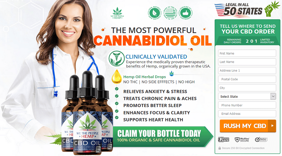 We The People CBD Review
