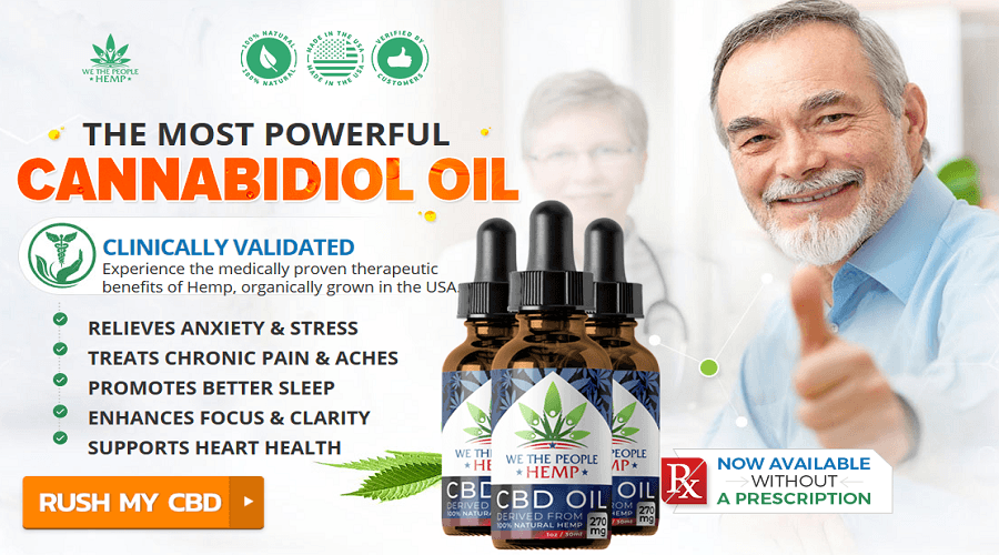 Orden We The People CBD Oil