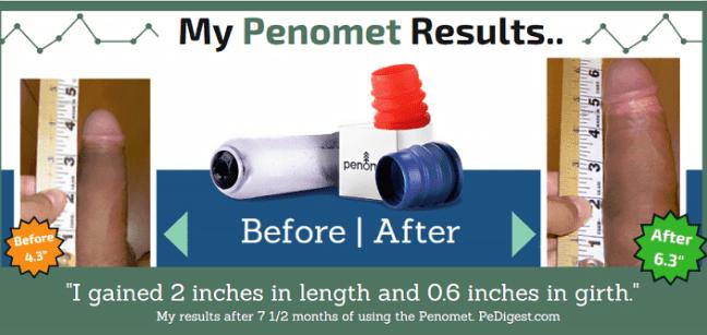 Resultados de Penomet