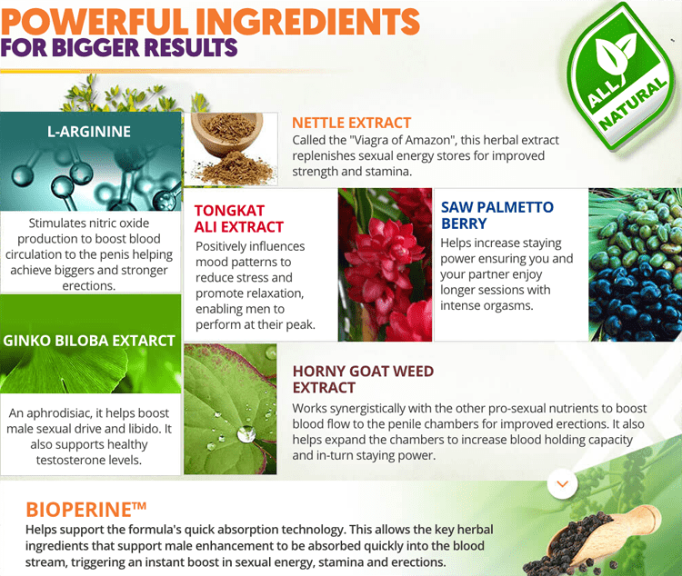 vixea Ingredients