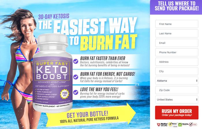 order super fast keto boost