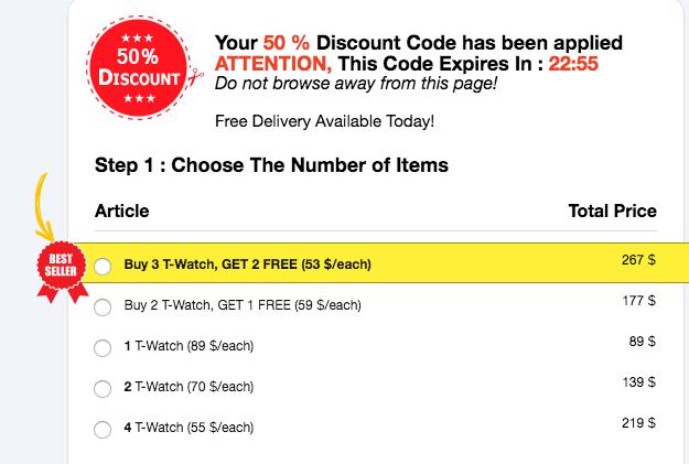 buy t1 Tact Watch