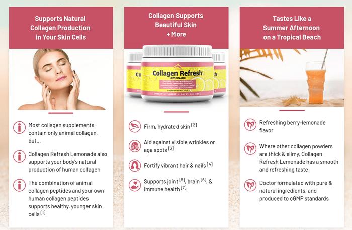 collagen refresh lemonade review