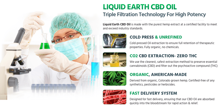 Liquid Earth CBD Oil review