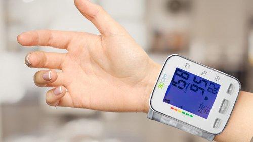 Zoom Wellness Wrist Blood Pressure Monitor Review