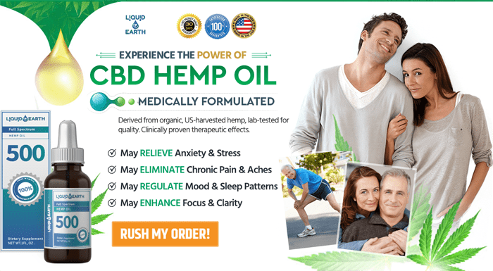 buy Liquid Earth CBD Oil