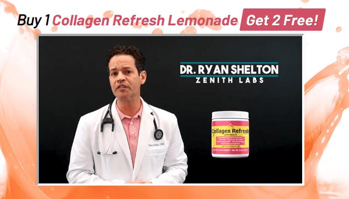 collagen refresh lemonade video