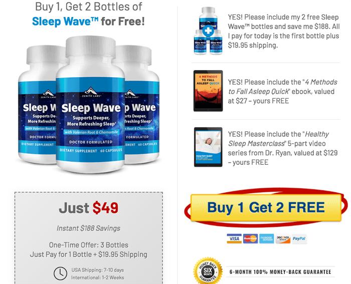 order Sleep Wave