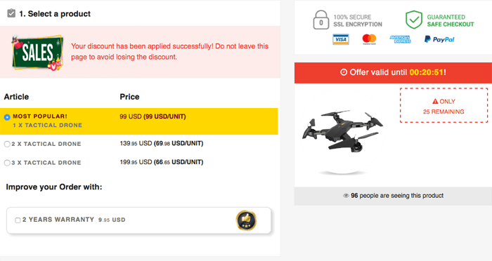 order Tactical Drone