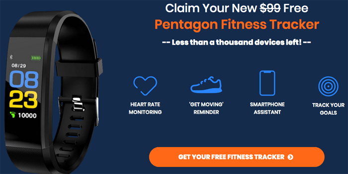 order pentagon fitness tracker