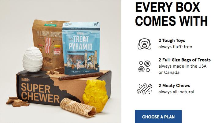 Order Super Chewer BarkBox