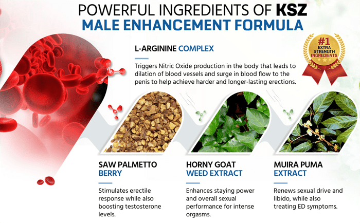 KSZ Male Enhancement Ingredients