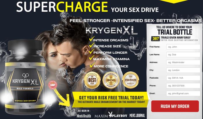 KrygenXL Male Enhancement