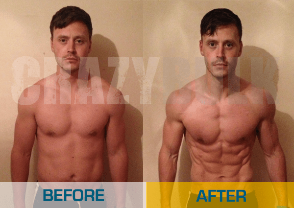 John Before and After Result