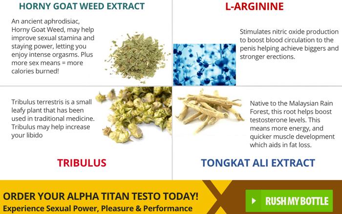 alpha titan testo ingredients