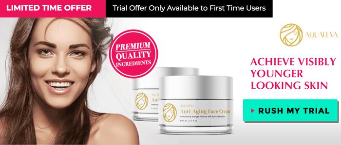 aqualeva face cream trial
