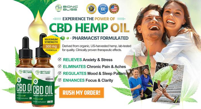 buy Bionic Bliss Organic CBD Oil