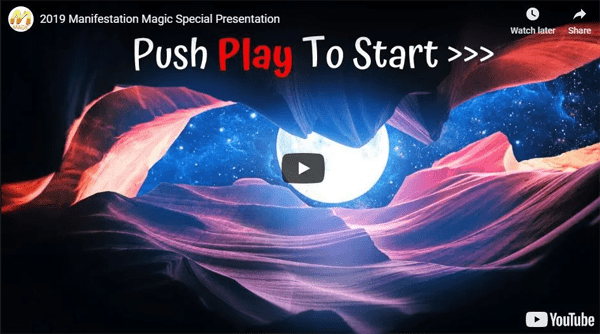 magic manifestation video