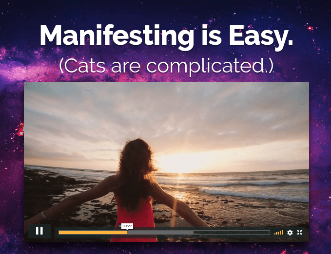 no bs manifestation course