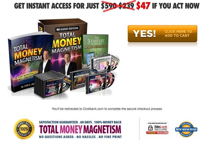 order Total Money Magnetism