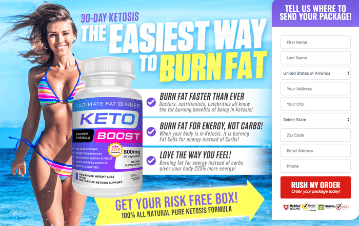 order Ultimate Keto Boost