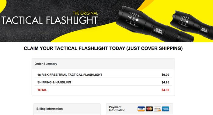 order glow torch