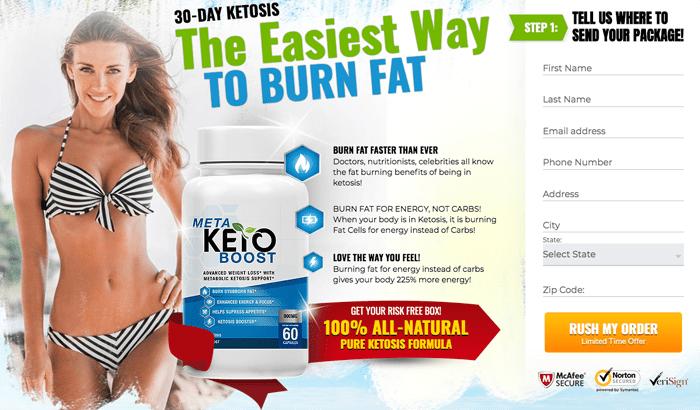 order meta keto boost