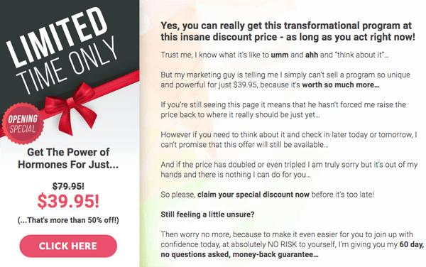 buy order The Power of Hormones