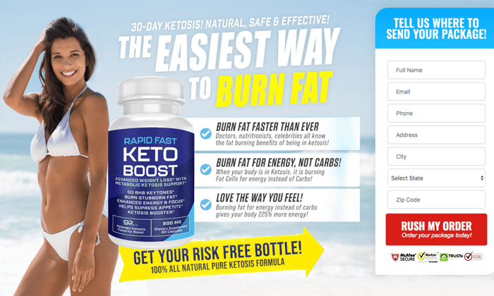 Rapid Fast Keto Boost review