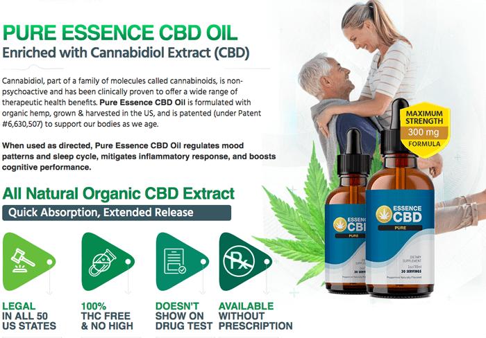 Essence CBD Pure Oil reviews