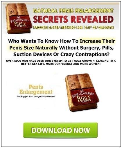 Penis Enlargement Bible PDF Review