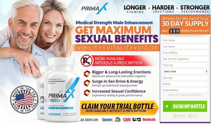 Order Prima X Male Enhancement