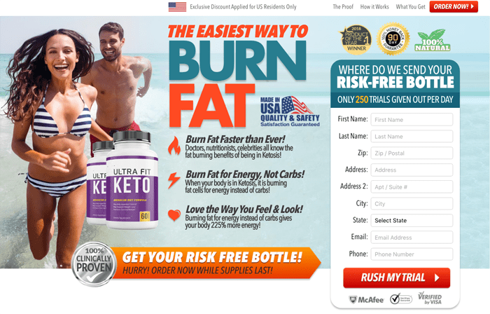 Ultra Fit Keto Review