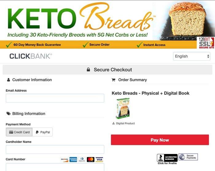 keto breads price