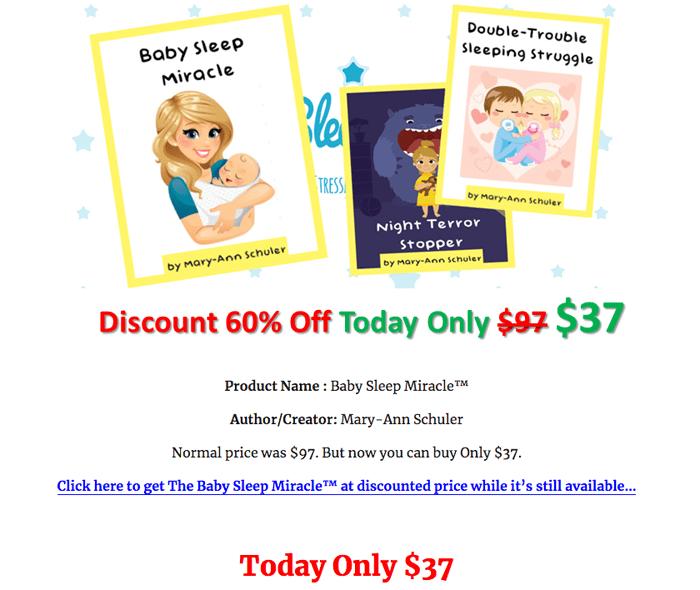 order baby sleep miracle pdf