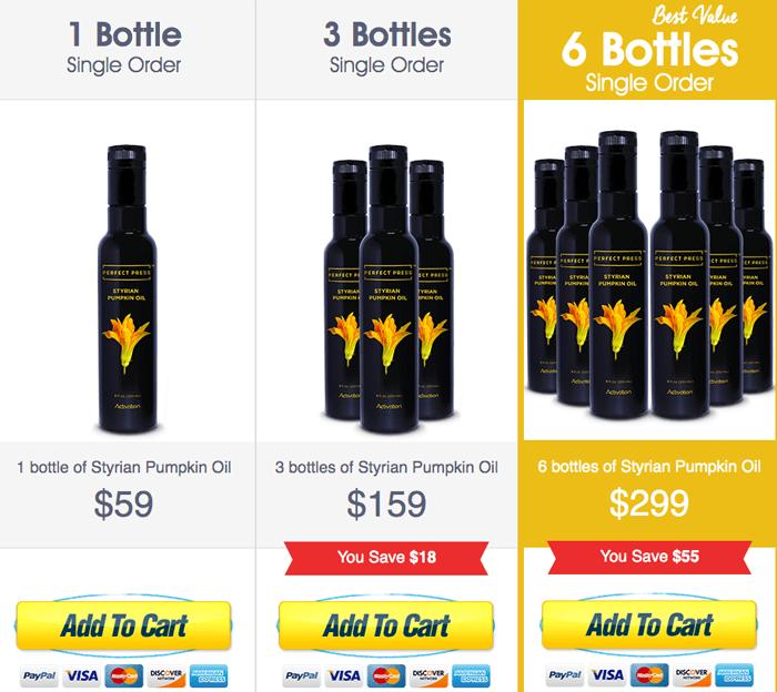 order Perfect Press Styrian Pumpkin Oil
