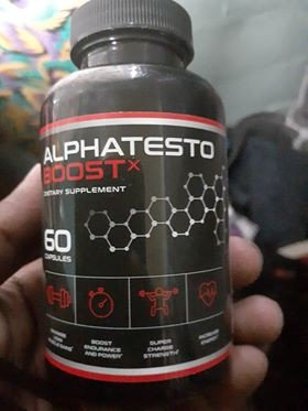 Alpha Testo Booster x