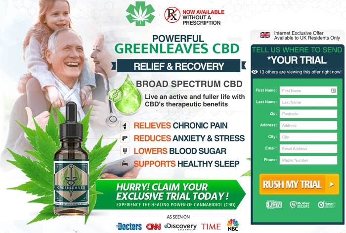 Green Leaves CBD Oil UK Review