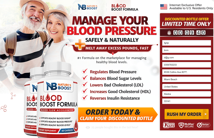 Nature's Boost Blood Boost Formula Review