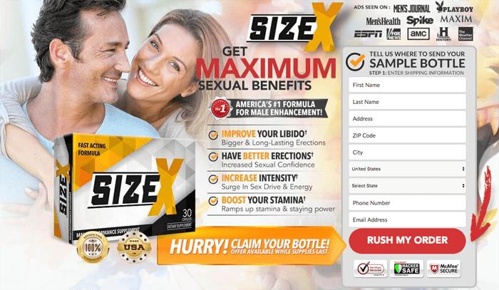 SizeX Men's Health Review