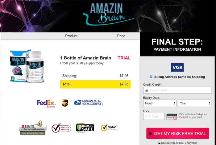 amazin brain price