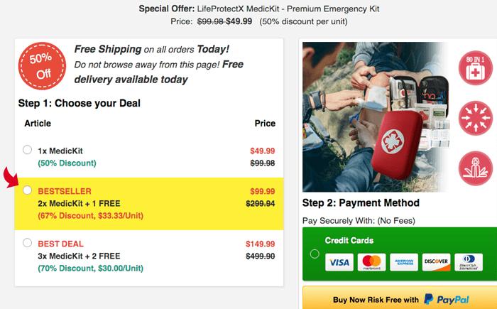 lifeprotectx medikit price