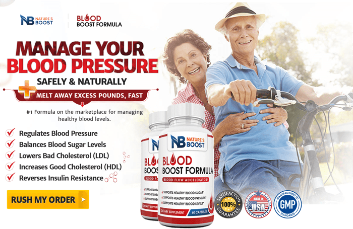 order Nature's Boost Blood Boost Formula