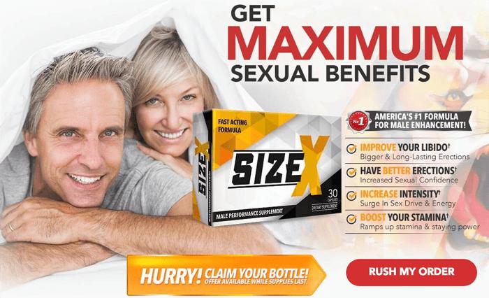 Order Size X Men's Health