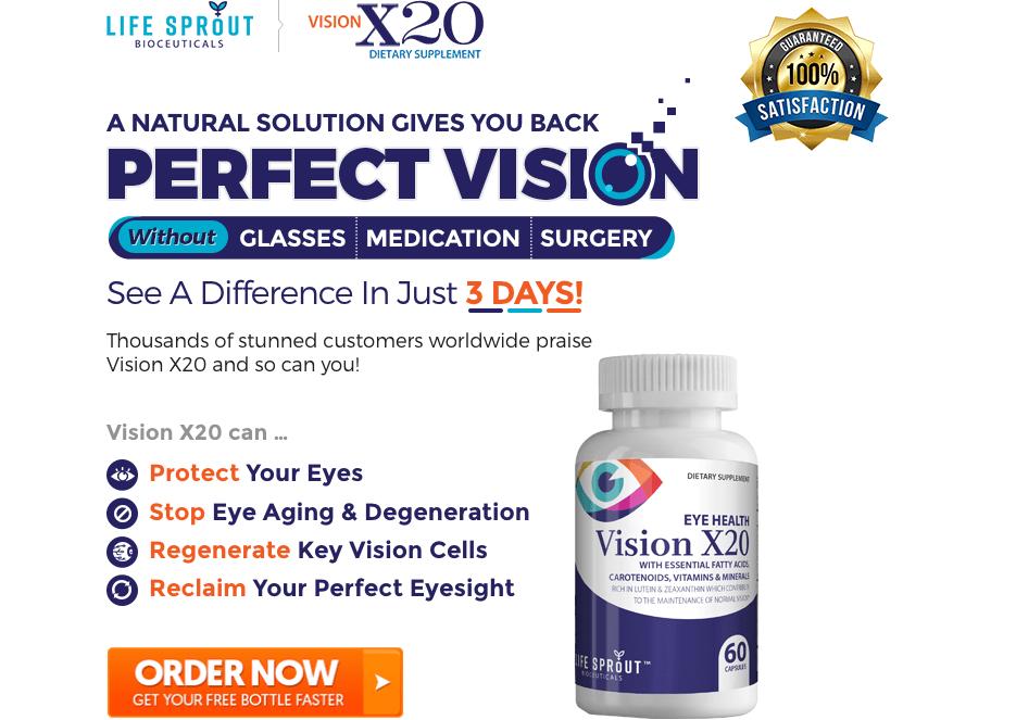 order vision rx 20