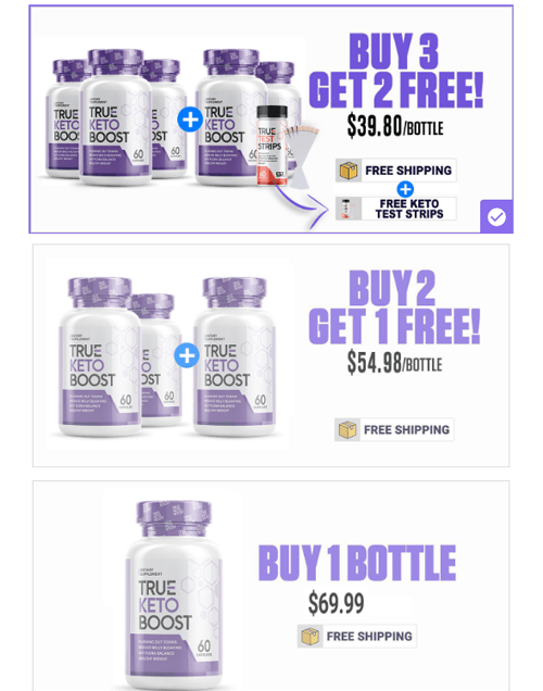 True Keto Boost price