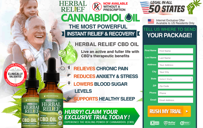 Herbal Relief CBD Oil Review