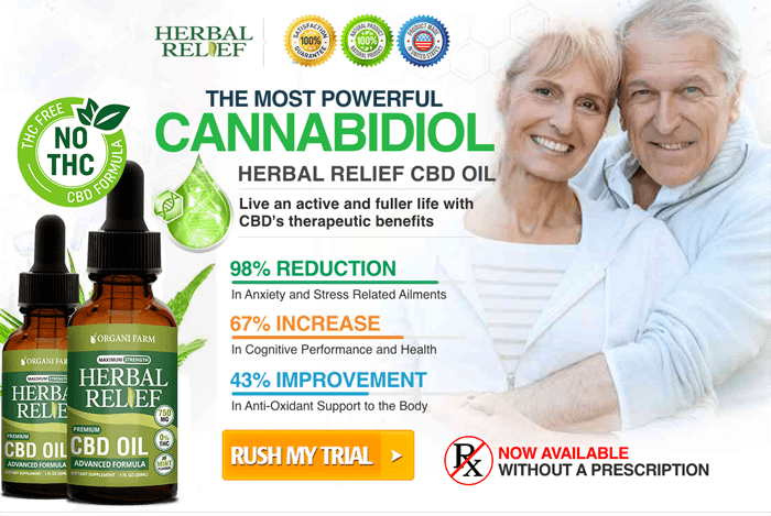order Herbal Relief CBD Oil