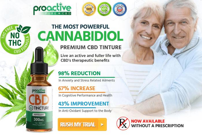 order Proactive CBD Tincture Oil