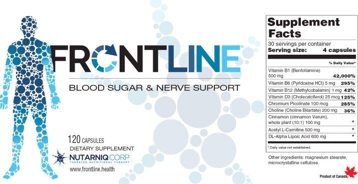 Frontline label
